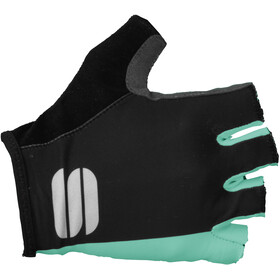Sportful Diva Guanti Donna, black/miami green